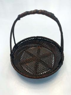 Shokosai I Hayakawa An important miniature Japanese bamboo basket by Hayakawa Shokosai I - 991508