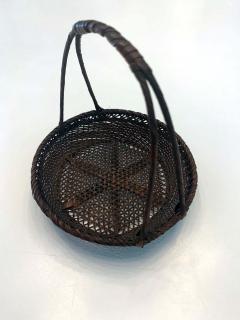 Shokosai I Hayakawa An important miniature Japanese bamboo basket by Hayakawa Shokosai I - 991509
