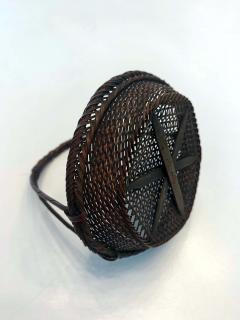 Shokosai I Hayakawa An important miniature Japanese bamboo basket by Hayakawa Shokosai I - 991510
