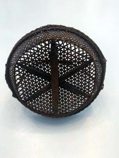 Shokosai I Hayakawa An important miniature Japanese bamboo basket by Hayakawa Shokosai I - 991512