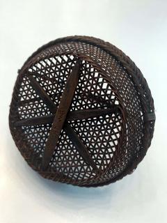 Shokosai I Hayakawa An important miniature Japanese bamboo basket by Hayakawa Shokosai I - 991514