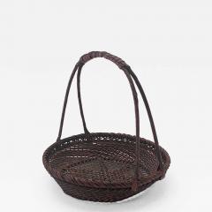 Shokosai I Hayakawa An important miniature Japanese bamboo basket by Hayakawa Shokosai I - 991892