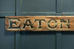 Shop Sign Eaton Co Outfitters  - 1953717