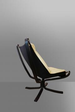 Sigurd Resell Falcon Chair 2 Armchairs with 1 foot rest - 908149