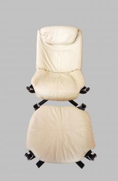 Sigurd Resell Falcon Chair 2 Armchairs with 1 foot rest - 908151