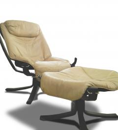 Sigurd Resell Falcon Chair 2 Armchairs with 1 foot rest - 908164