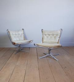 Sigurd Resell Pair of Sigurd Ressell Falcon Chairs - 757054