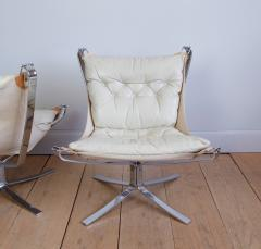Sigurd Resell Pair of Sigurd Ressell Falcon Chairs - 757055