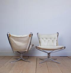 Sigurd Resell Pair of Sigurd Ressell Falcon Chairs - 757057