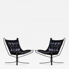Sigurd Resell Sigurd Resell Pair of Falcon Chairs - 184950