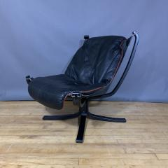 Sigurd Ressell Black and Red Falcon Chair Sigurd Ressell Vatne M bler - 1394230
