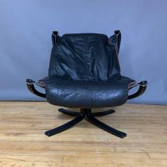 Sigurd Ressell Black and Red Falcon Chair Sigurd Ressell Vatne M bler - 1394231