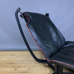 Sigurd Ressell Black and Red Falcon Chair Sigurd Ressell Vatne M bler - 1394236