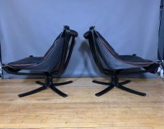 Sigurd Ressell Black and Red Falcon Chair Sigurd Ressell Vatne M bler - 1394237