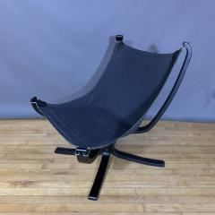 Sigurd Ressell Black and Red Falcon Chair Sigurd Ressell Vatne M bler - 1394240