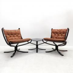 Sigurd Ressell Falcon Chairs by Sigurd Resell for Vatne M bler - 602775