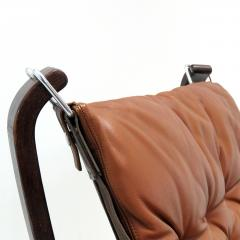 Sigurd Ressell Leather Chair Falcon by Sigurd Resell - 985343
