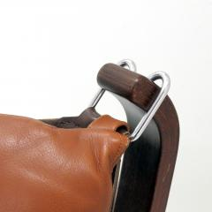 Sigurd Ressell Leather Chair Falcon by Sigurd Resell - 985345