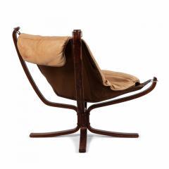Sigurd Ressell Scandinavian Post War Beige Leather Chairs - 1439923