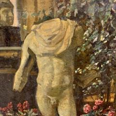 Sigurd Wandel 1875 1947 Reading Room Denmark Late 19th Century - 1555315
