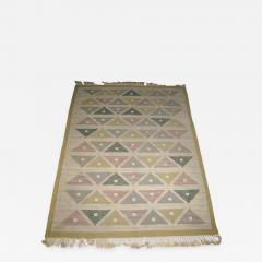 Sigvard Bernadotte Handwoven Flat Weave Carpet by Sigvard Bernadotte - 602002