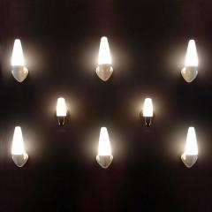 Sigvard Bernadotte Pair of Ceramic Wall Lights by Sigvard Bernadotte - 1007683