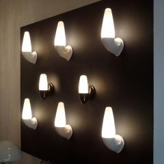 Sigvard Bernadotte Pair of Ceramic Wall Lights by Sigvard Bernadotte - 1007684
