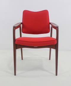 Sigvard Bernadotte Pair of Solid Teak Scandinavian Modern Armchairs Designed by Sigvard Bernadette - 983937