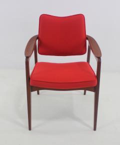 Sigvard Bernadotte Pair of Solid Teak Scandinavian Modern Armchairs Designed by Sigvard Bernadette - 983938