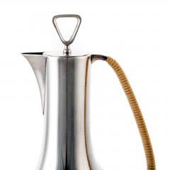 Sigvard Bernadotte Rare Sterling Silver Coffee Service by Sigvard Bernadotte for Georg Jensen - 529982