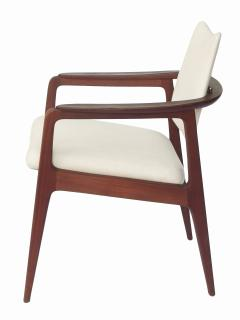 Sigvard Bernadotte Sigvard Bernadotte Teak Arm Chairs - 1698916