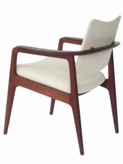 Sigvard Bernadotte Sigvard Bernadotte Teak Arm Chairs - 1698919