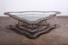 Silas Seandel Bronze and Steel Volcano Coffee Table by Silas Seandel - 2127886