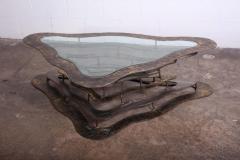 Silas Seandel Bronze and Steel Volcano Coffee Table by Silas Seandel - 2127887