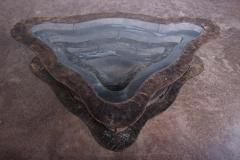 Silas Seandel Bronze and Steel Volcano Coffee Table by Silas Seandel - 2127893