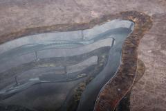 Silas Seandel Bronze and Steel Volcano Coffee Table by Silas Seandel - 2127894
