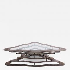 Silas Seandel Bronze and Steel Volcano Coffee Table by Silas Seandel - 2132017
