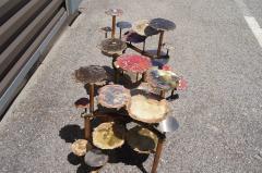 Silas Seandel Pair of Sunspots Coffee Tables by Silas Seandel - 1411084