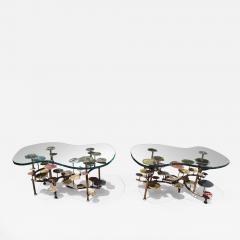 Silas Seandel Pair of Sunspots Coffee Tables by Silas Seandel - 1420472