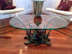 Silas Seandel Studio Sculptural Bronze Coffee Table Silas Seandel - 81080