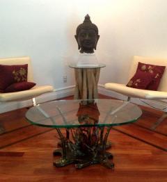 Silas Seandel Studio Sculptural Bronze Coffee Table Silas Seandel - 81081