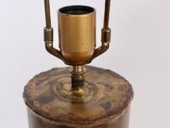 Silas Seandel Substantial Silas Seandel Torched Mixed Metal Brutalist Table Lamp 1974 - 1603400