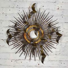 Silas Seandel Torch cut brass birds on starburst nail wall art style silas seandel - 1938848