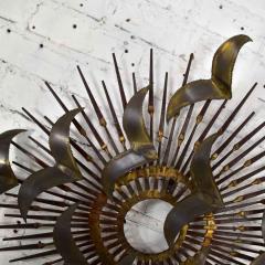 Silas Seandel Torch cut brass birds on starburst nail wall art style silas seandel - 1938878