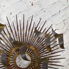 Silas Seandel Torch cut brass birds on starburst nail wall art style silas seandel - 1938879