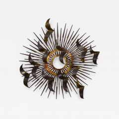 Silas Seandel Torch cut brass birds on starburst nail wall art style silas seandel - 1940572