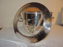 Silver Art Deco Double Champagne Cooler - 1343346