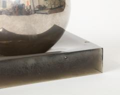 Silver Ball on Lucite Base - 1943696