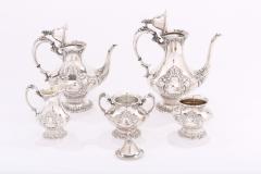 Silver Plate Five Piece Tea Coffee Service - 1964733