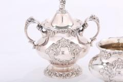 Silver Plate Five Piece Tea Coffee Service - 1964751
